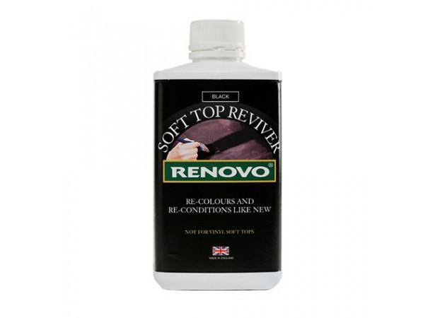 Rénovateur noir RENOVO pour capote en toile
