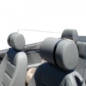Windstop plexiglass adaptable cabriolets - Plexicar