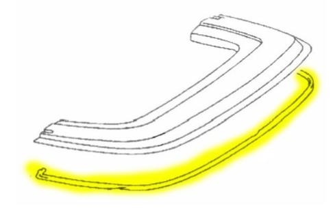 Joint étanchéité couvre-capote Mercedes R107