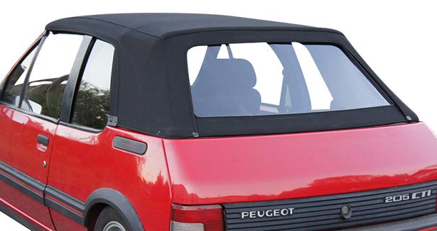 Capote Peugeot 205 Cab en Alpaga Stayfast