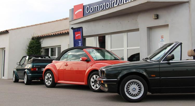 Article Autoplus sur le Comptoirducabriolet.com N°1 du e-commerce pour les accessoires pour cabriolets